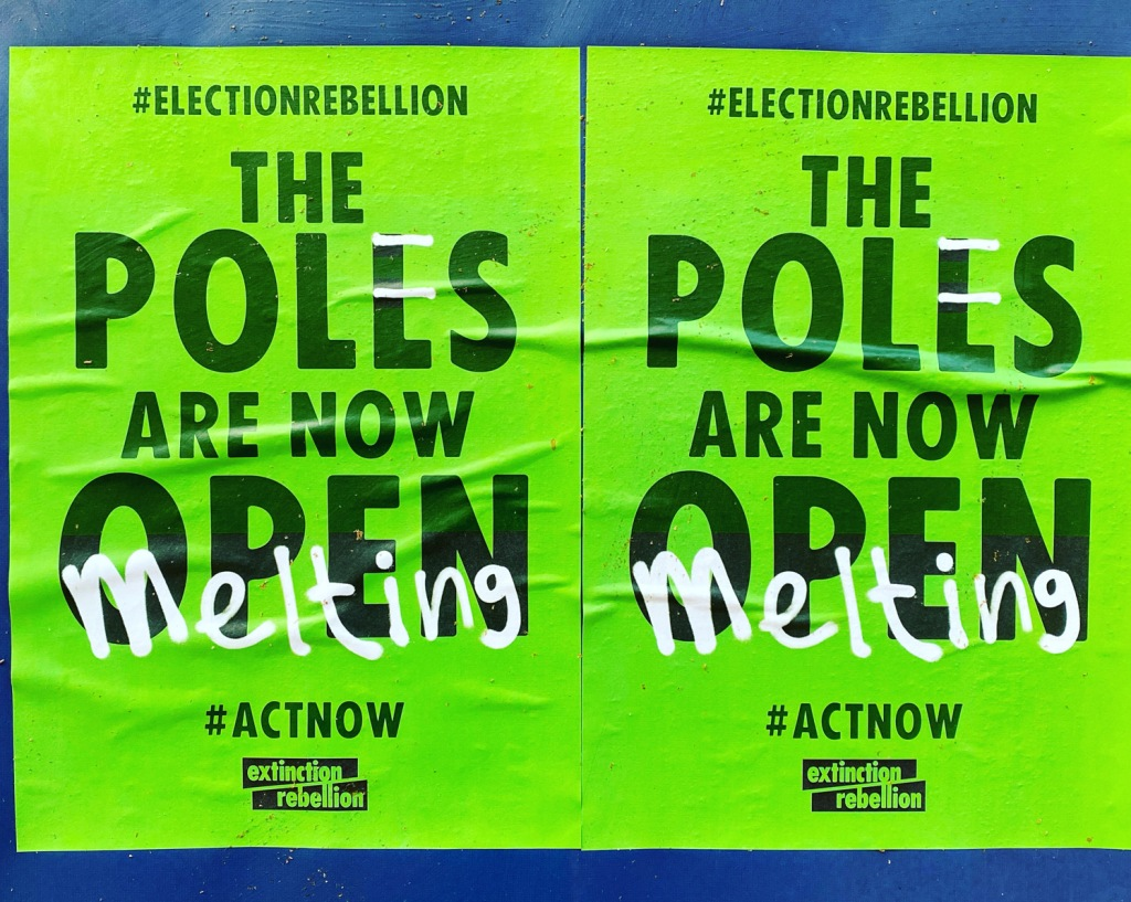 The poles are melting